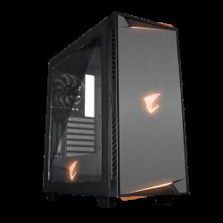 Gigabyte AC300W Mini Torre Negro