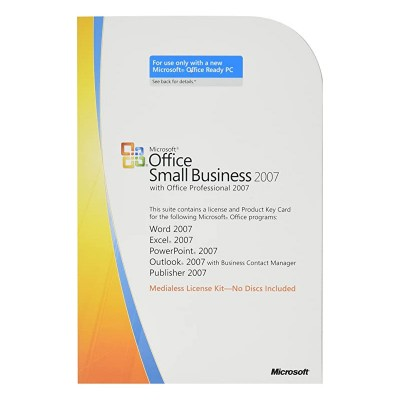 HP Microsoft Office Small Business 2007 Activation License - Media-less License 1 licencia(s)