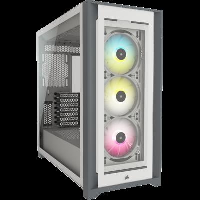 Corsair iCUE 5000X RGB Midi Tower Blanco