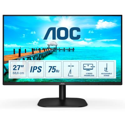 """AOC Basic-line 27B2H pantalla para PC 68,6 cm (27"""") 1920 x 1080 Pixeles Full HD LED Negro"""