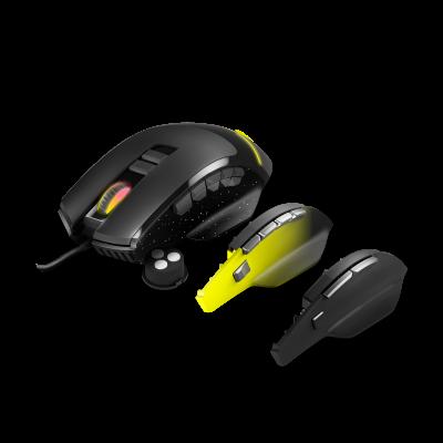 Energy Sistem ESG M5 Triforce ratón mano derecha USB tipo A Óptico 10000 DPI