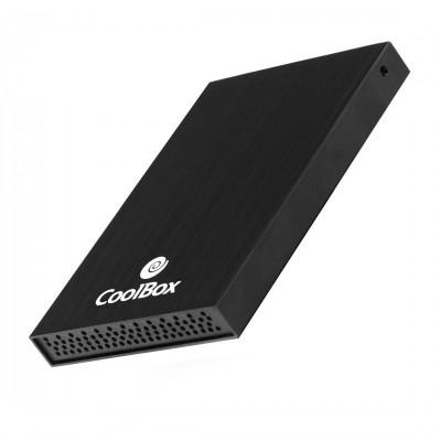 "CoolBox SlimChase 2512 2.5"" Carcasa de disco duro SSD Negro"