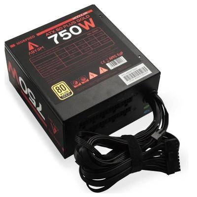 ABYSM Morpheo unidad de fuente de alimentación 750 W ATX Negro