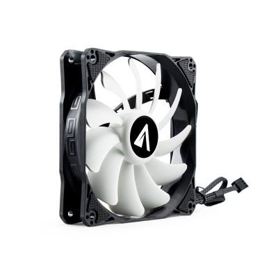 ABYSM Breeze Carcasa del ordenador Enfriador 12 cm Negro, Blanco