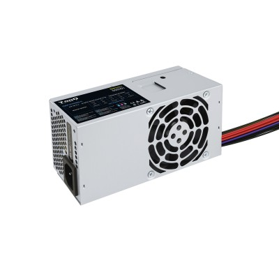 TooQ Ecopower II TFX OEM unidad de fuente de alimentación 500 W 20+4 pin ATX Plata