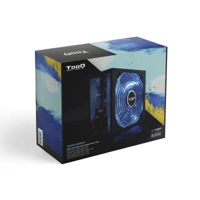 TooQ TQXGEII-800SAP unidad de fuente de alimentación 800 W 20+4 pin ATX ATX Negro