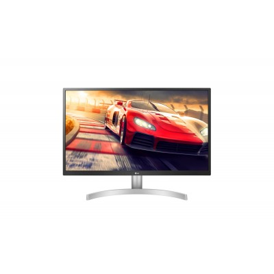 "LG 27UL500-W pantalla para PC 68,6 cm (27"") 3840 x 2160 Pixeles 4K Ultra HD LED Plata"
