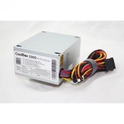 CoolBox S300 unidad de fuente de alimentación 300 W SFX Plata