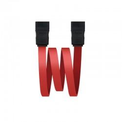 Nanocable 10.18.0101 cable de SATA 0,5 m Negro, Rojo