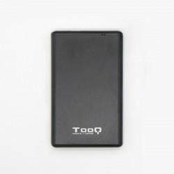 "TooQ TQE-2533B caja para disco duro SSD externo 2.5"" Negro"