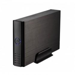 """TooQ CAJA HDD 3,5"""" IDESATA A USB 2.0 NEGRA"""