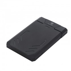 CoolBox DeepCase 2.5 Carcasa de disco duroSSD Negro