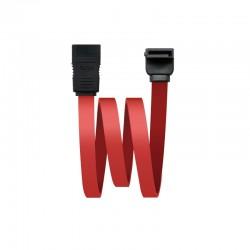 Nanocable 10.18.0202-OEM cable de SATA 0,5 m Negro, Rojo