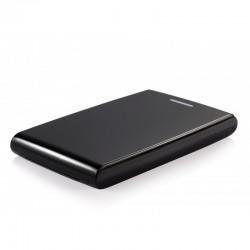 """TooQ CAJA HDD 2,5"""" SATA A USB 2.0USB 3.0 NEGRA"""