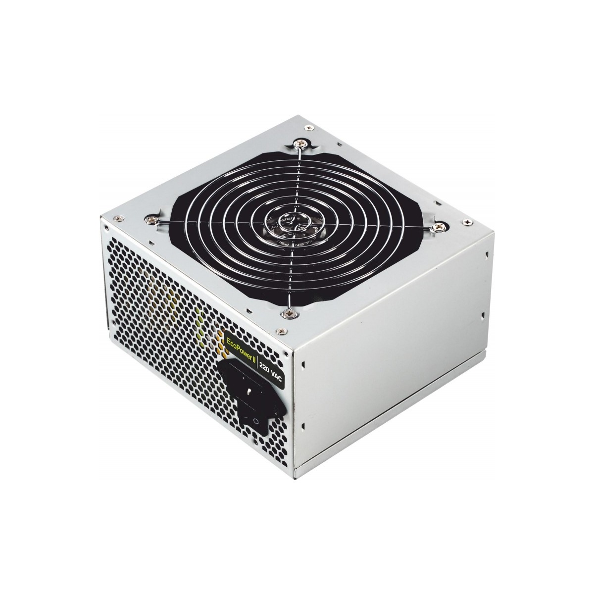 TooQ TQEP-500SSE unidad de fuente de alimentación 500 W ATX Plata