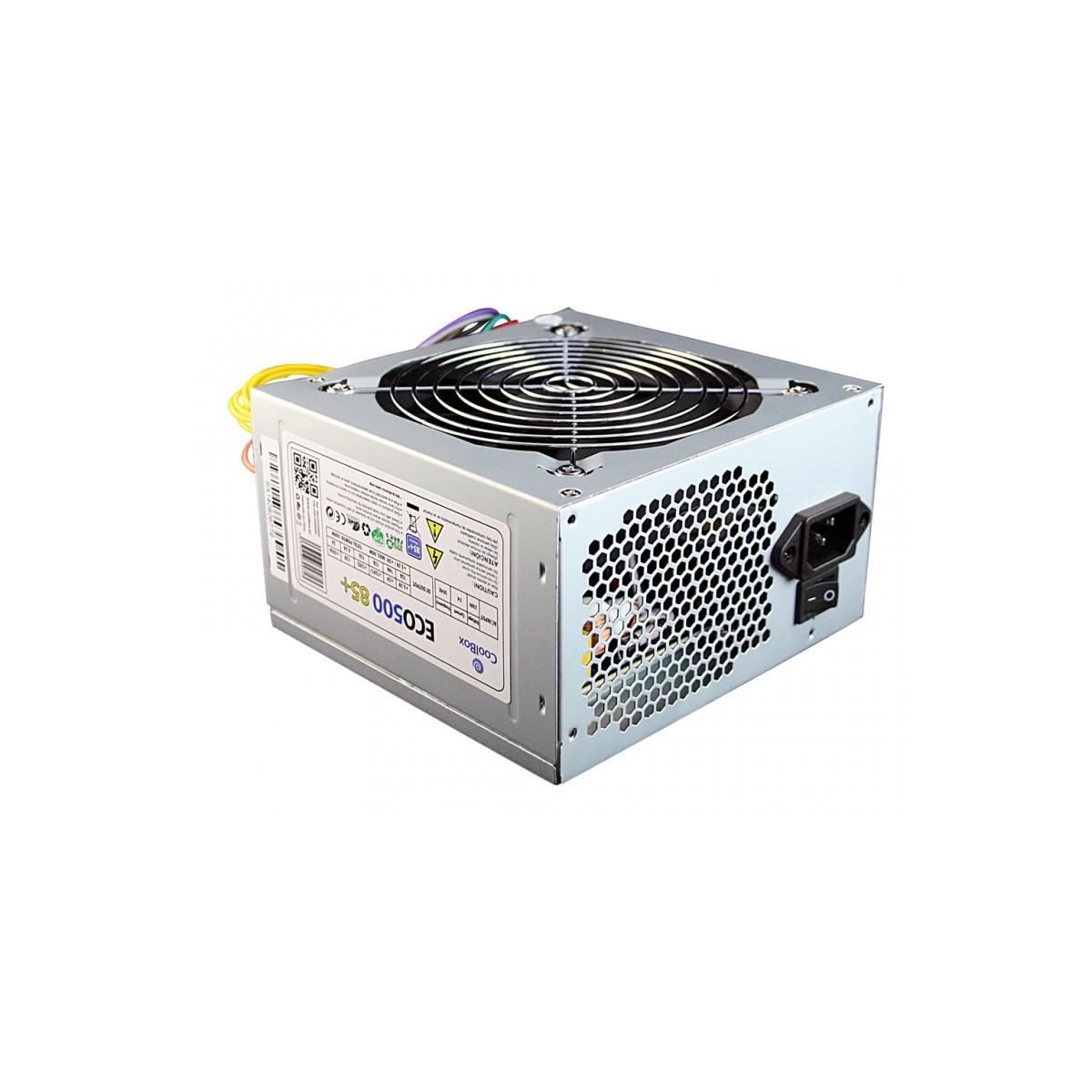 CoolBox ECO500 85+ unidad de fuente de alimentación 300 W ATX Gris