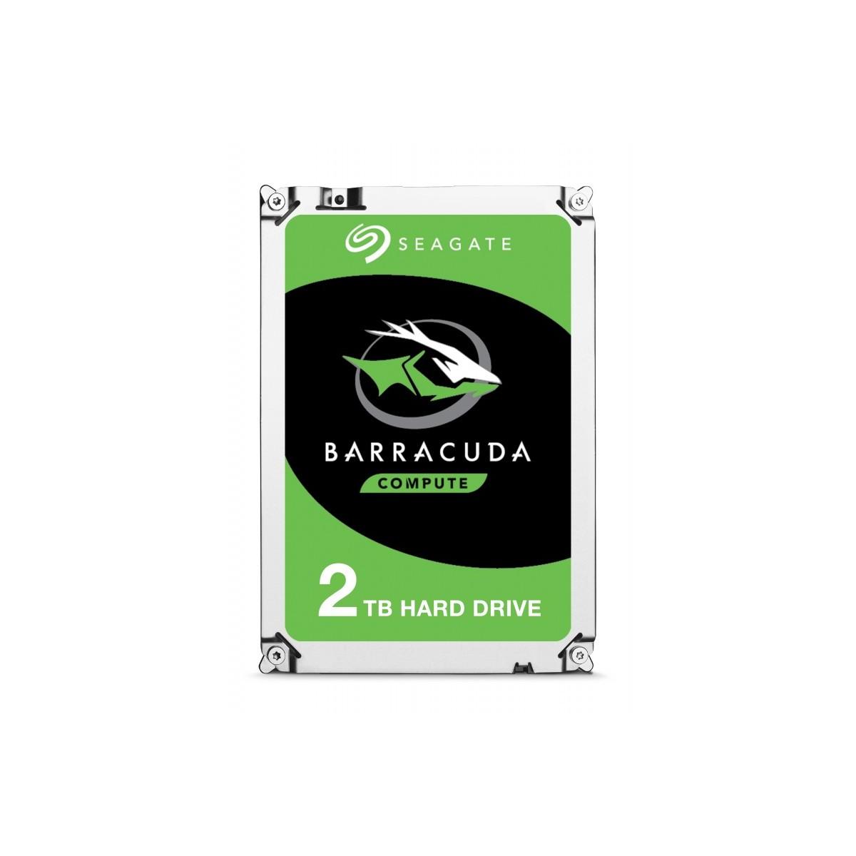 "Seagate Barracuda disco duro interno 3.5"" 2 TB Serial ATA 3"