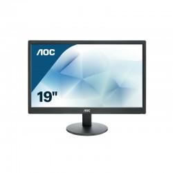 """AOC Basic-line E970SWN LED display 47 cm (18.5"""") 1366 x 768 Pixeles WXGA LCD Plana Mate Negro"""