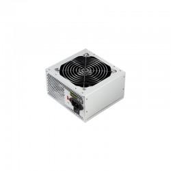 TooQ TQEP-500S-INT unidad de fuente de alimentación 500 W ATX Plata