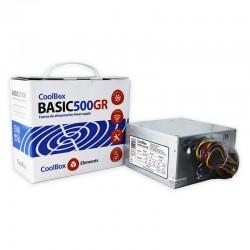CoolBox Basic 500GR unidad de fuente de alimentación 300 W ATX Metálico