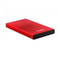 "TooQ TQE-2527R caja para disco duro externo 2.5"""