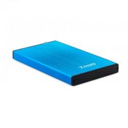 "TooQ TQE-2527BL caja para disco duro externo 2.5"""